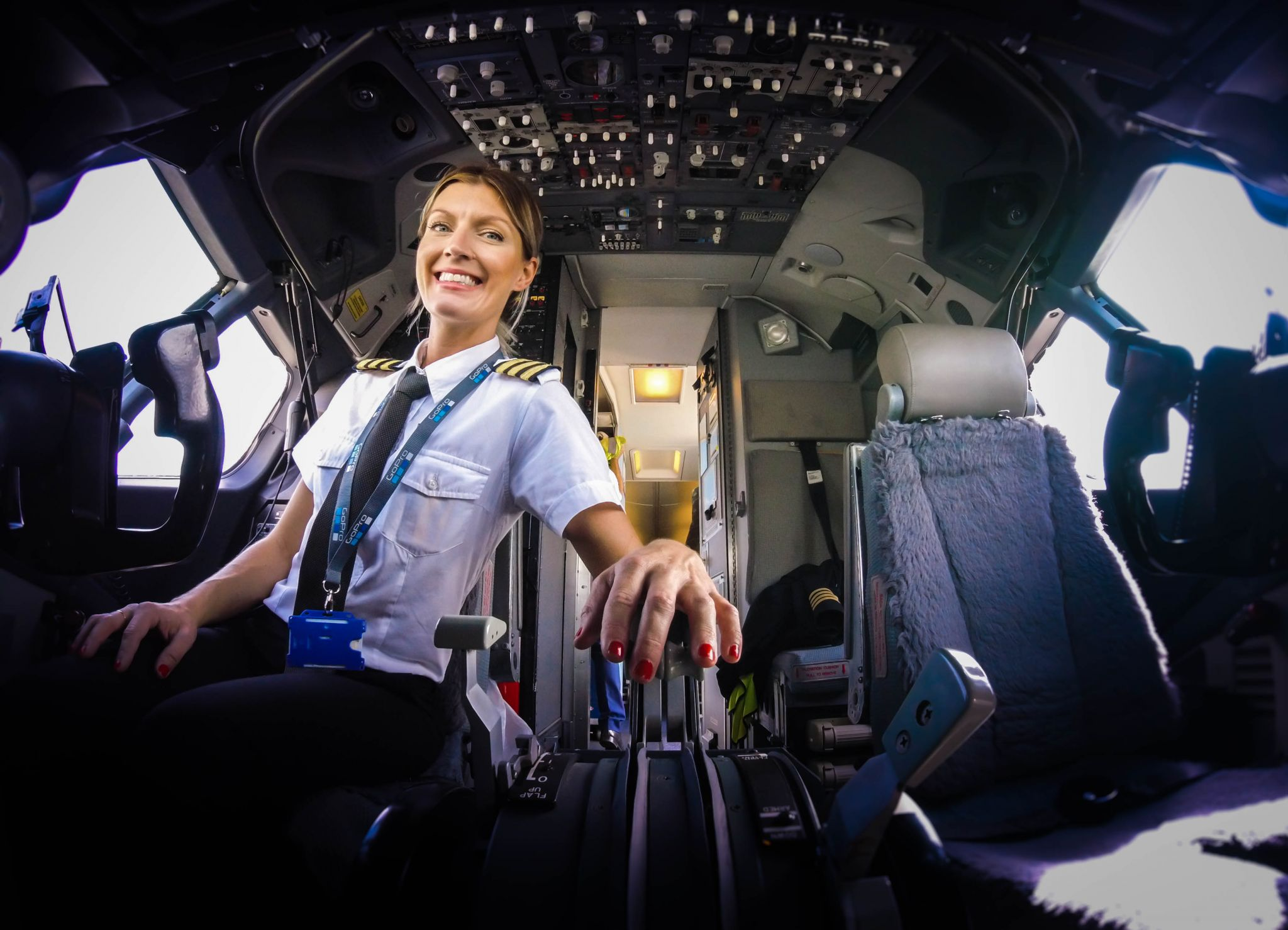 My route to the right hand seat - @pilotmaria