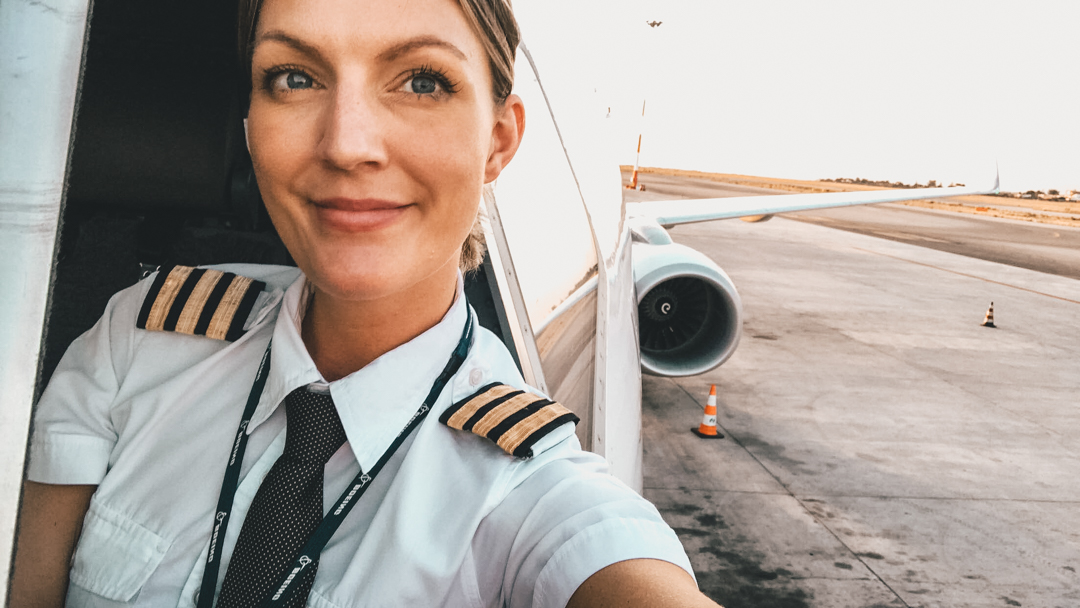 Five Steps to Become An Airline Pilot - @pilotmaria