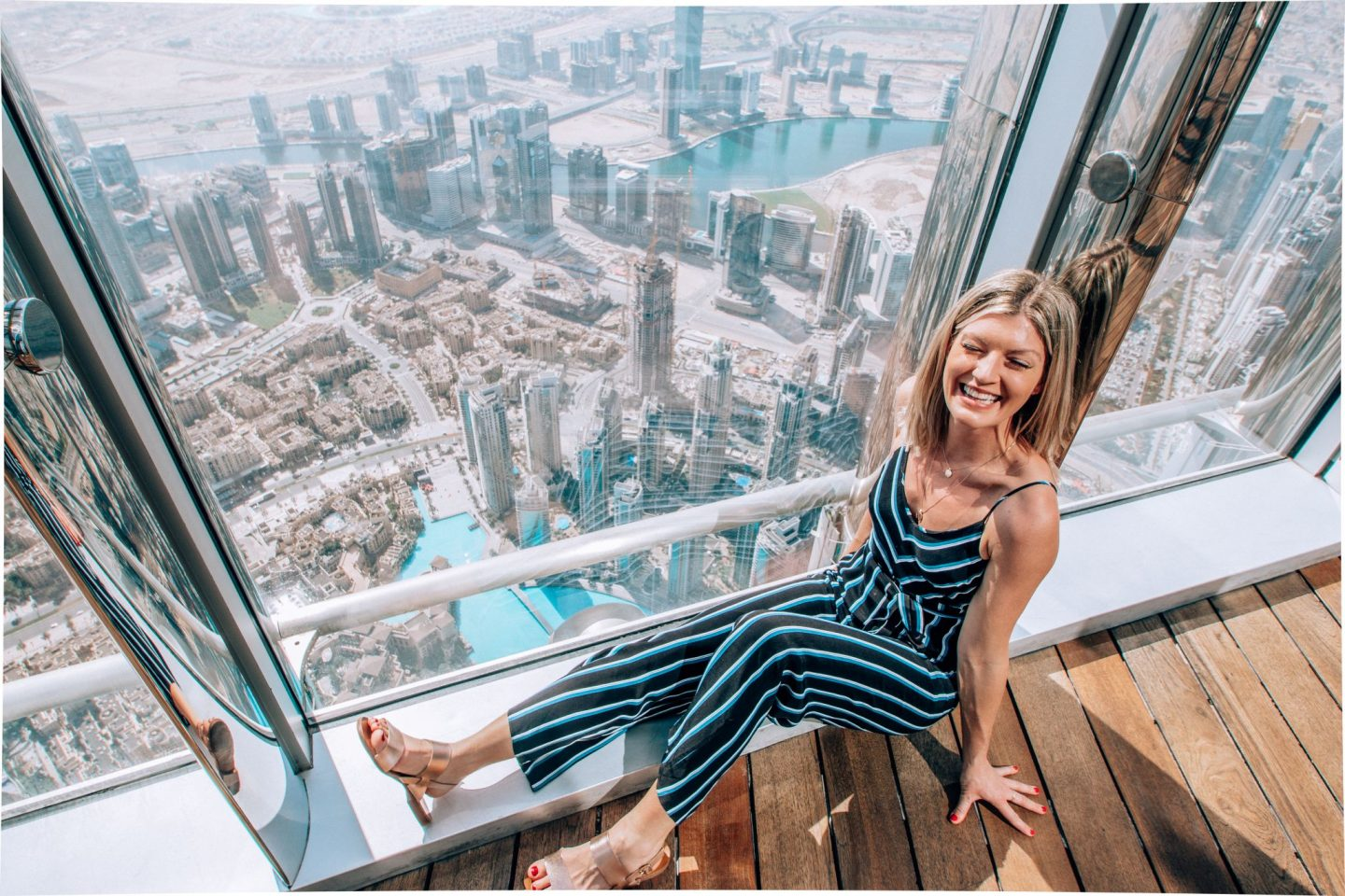 Dinner in the sky and my fear of elevators – Dubai II