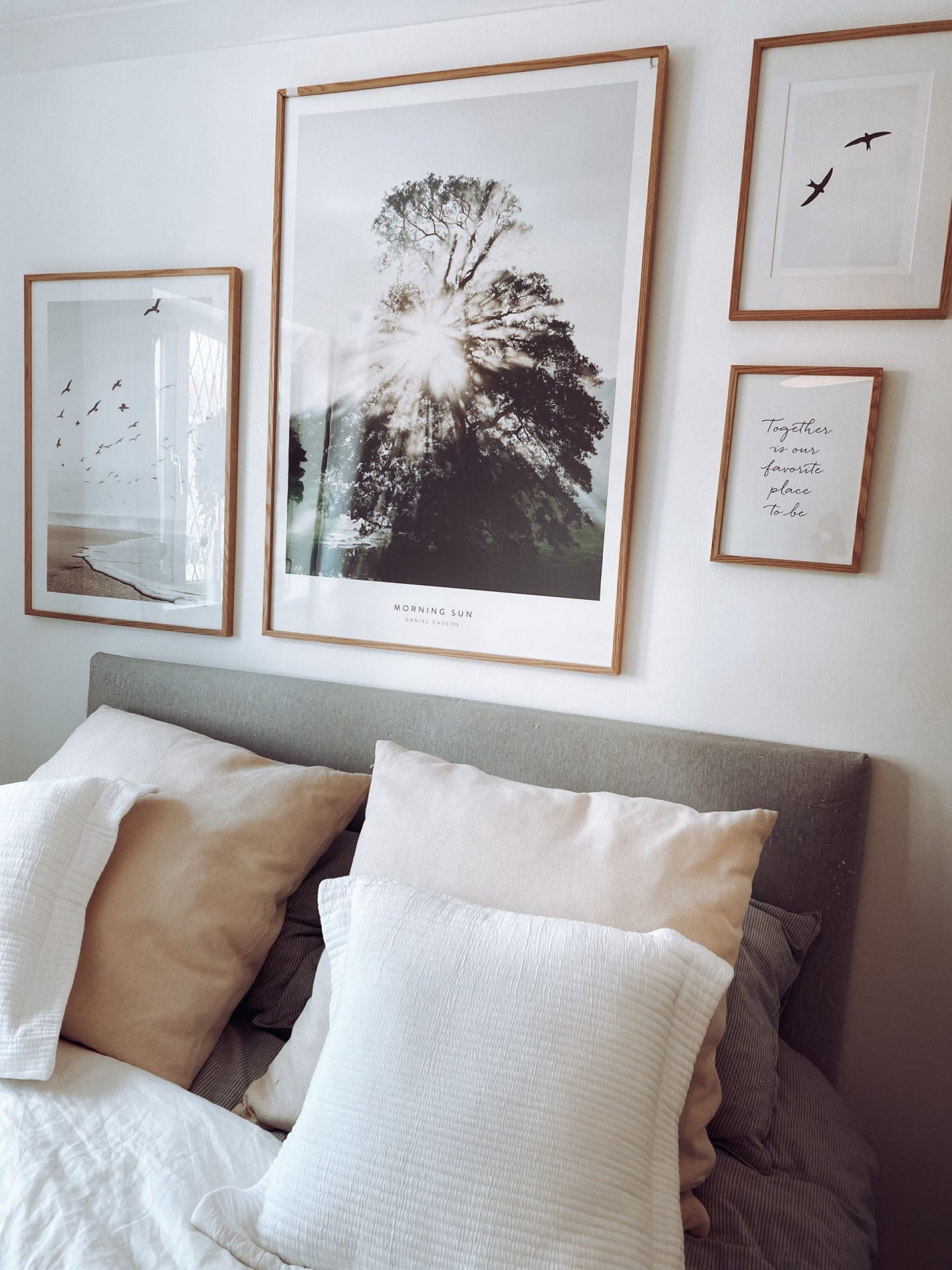 DIY How I styled our bedroom